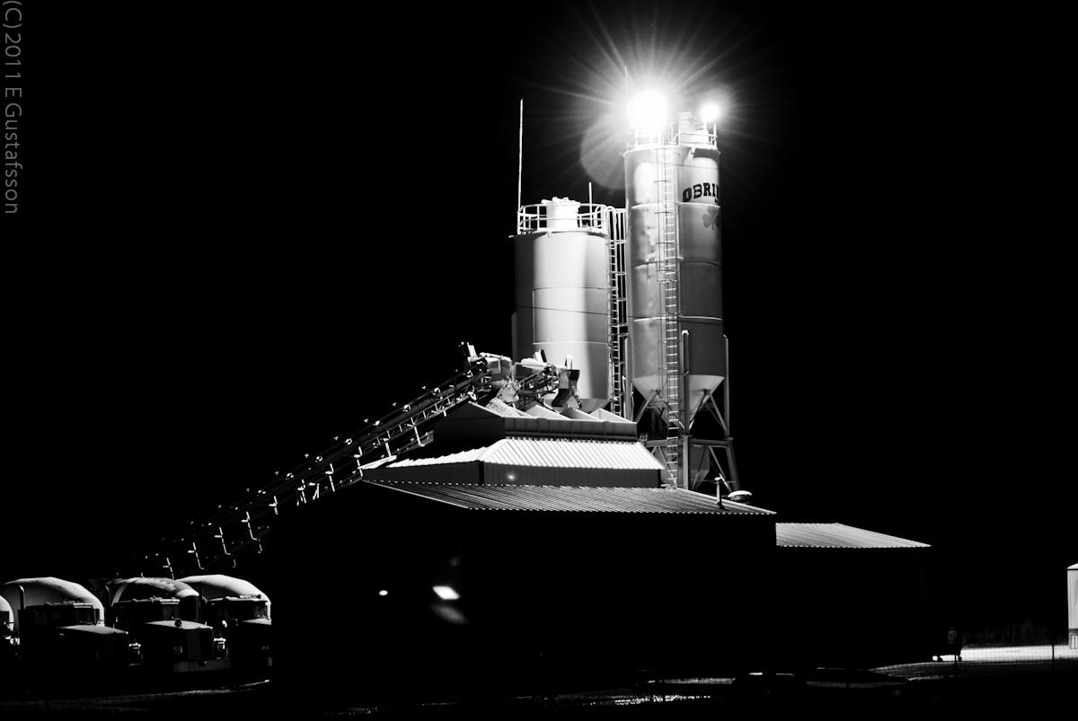 05/365 Concrete Plant at night